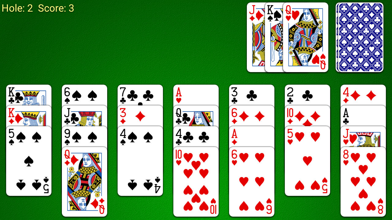 Golf Solitaire Screenshot Android iOS
