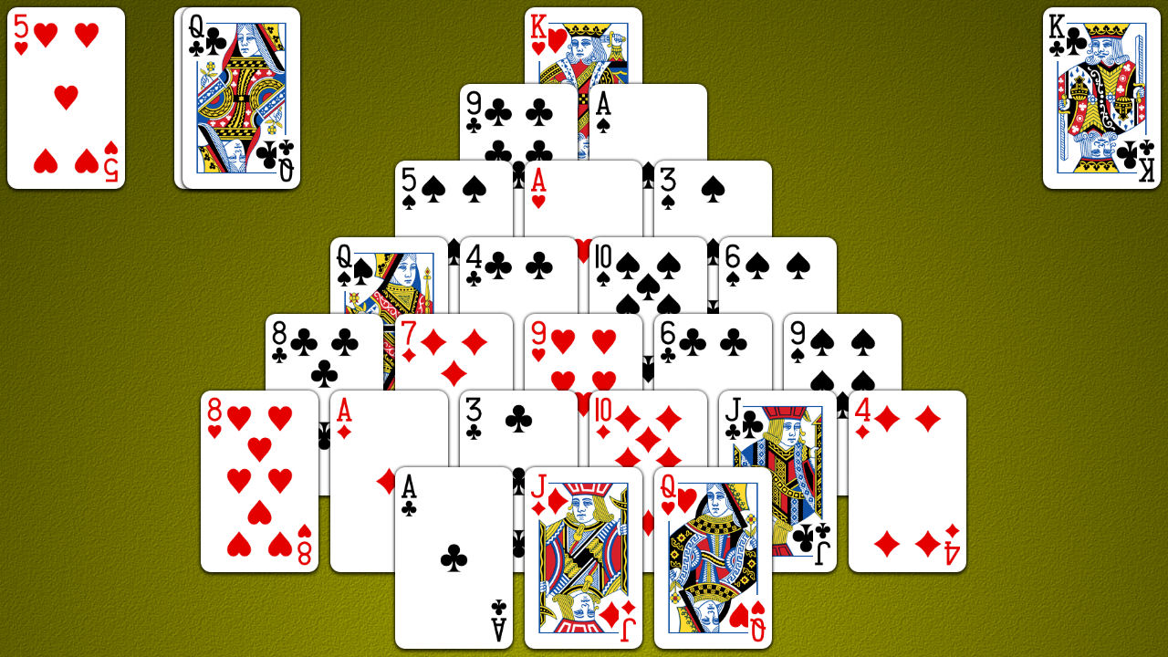 Pyramid Solitaire Screenshot Android iOS